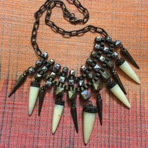 Steampunk Gothic Runway Statement Necklace Choker